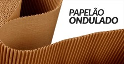 papelão ondulado